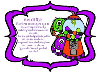 Gumball Math Counting Mats