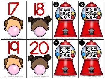 Gumball Math Kindergarten Stations