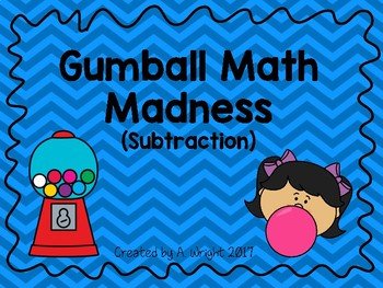 Gumball Math Madness (Subtraction)