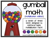 Gumball Math {Multiplication Edition}