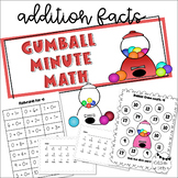 Gumball Math (Timed Addition Drills)