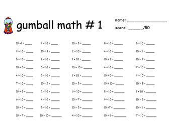 Gumball Math for 2nd Grade New York State Common Core Modules