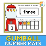 Gumball Number Activity Mats 1-10