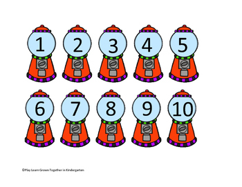 Gumball Number Sequence