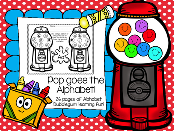 Gumball Letter Recognition Practice Pack