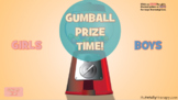 Gumball Prize Game