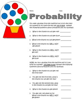 Gumball Probability