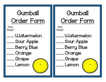 Gumball Shop (Dramatic Play)