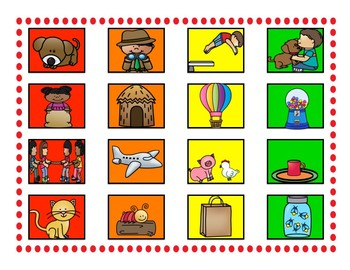 Gumball Sight Words-Sentence Picture Match