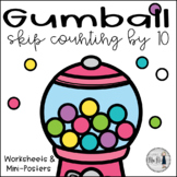 Gumball Skip Counting by Ten