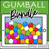 Gumball Speech and Language Boom Cards Distance Learning