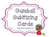 Gumball Subitizing Cards