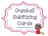Gumball Subitizing Cards