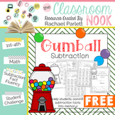 FREEBIE: Gumball Subtraction - A Fun Way for Students to Learn Their Facts!