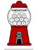 Gumball Subtraction Fact Fluency
