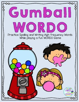 Gumball WORDO: A High Frequency Word Game