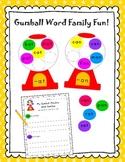 Gumball Word Family Fun!