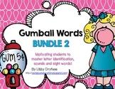 Gumball Words BUNDLE 2!  Common Core Word Activities