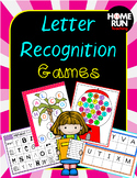 Letter Recognition and Identification Games