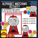 Gumball letter matching game-uppercase to lowercase
