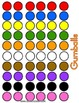 Gumballs Color Counting Game