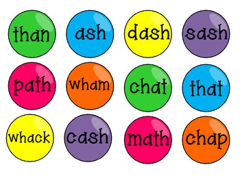 Gumballs Galore: Short Vowel Digraphs Literacy Centers
