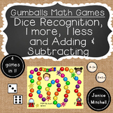 Gumballs Theme Math Game for K to 1