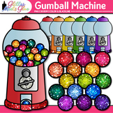 Gumball Machine Clip Art: Counting & Sorting Graphics {Glitter Meets Glue}
