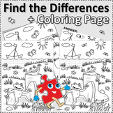 Gumboots Find the Differences and Coloring Page, Commercia