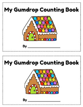 Gumdrop Christmas Counting Book 11-20, Emergent Reader