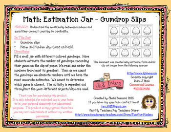 Gumdrop Estimation