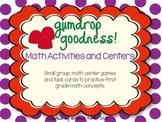 Gumdrop Goodness Math Activities and Centers