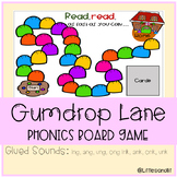 Gumdrop Lane Phonics Board Game: Glued Sounds - ng & nk endings