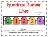 Gumdrop Number Lines