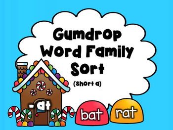 Gumdrop Word Family Sort: Short A