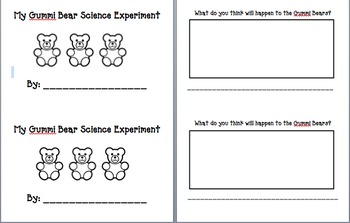 Gummi Bear Science Experiment