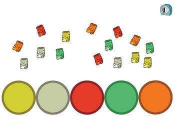 Gummy Bear Color Sorters