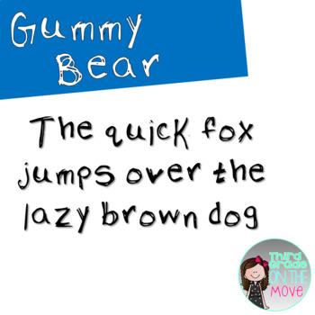 Gummy Bear Font
