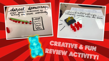 Gummy Bear Government Activity/ Notes