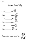Gummy Bear Graphing Activity