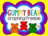 Gummy Bear Graphing Freebie