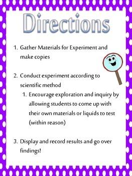 Gummy Bear Science Inquiry Lab