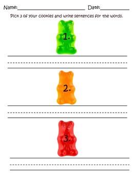 Gummy Bear Jar Reading Center- CVCE, Blends, and Digraphs Bundle