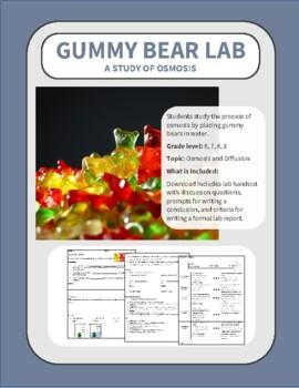 Gummy Bear Lab - Osmosis and Diffusion