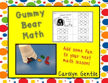 Gummy Bear Math!