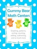 Gummy Bear Math Centers