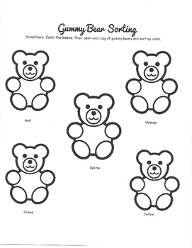 Gummy Bear Math Packet