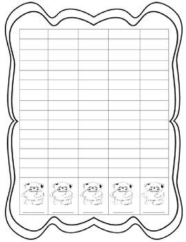 Gummy Bear Math Packet: # Sense, Graphing, Add & Subtract, Patterns, 10 Frames