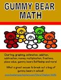 Gummy Bear Math and Activity Pack