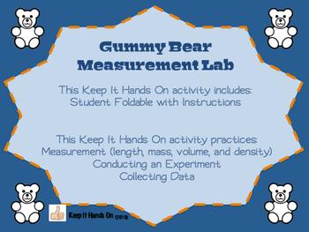 Gummy Bear Measurement Lab